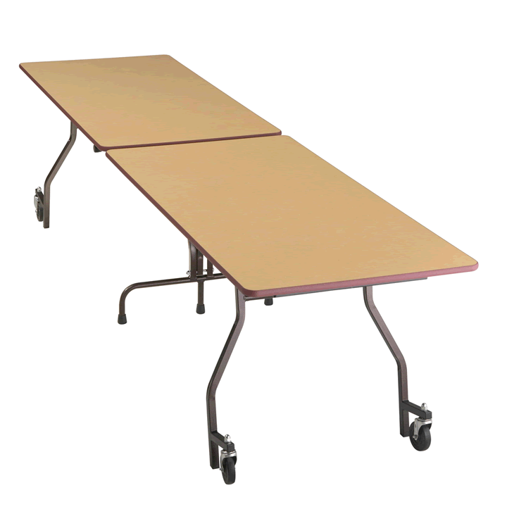 portable folding conference table