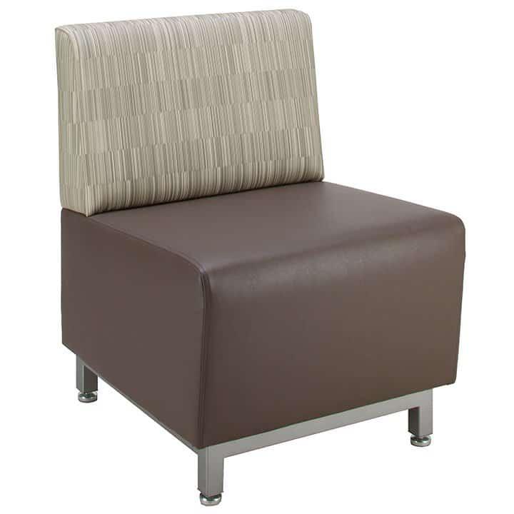 乙烯基或织物软座椅